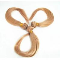 Quality Top Quality 14inch 100% Human Hair Blond Silky Stright Hair Weave for sale