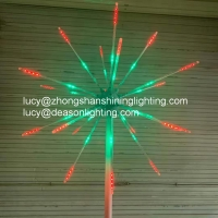 Quality Outdoor led firework light christmas wedding events decoration for sale