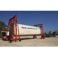Quality 30t  Gantry Mobile Container Crane Lift , Truck Mounted Shipping Container Crane for sale