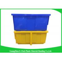 Quality Light Stackable Industrial Storage Bins , Product Protection Stackable Storage Boxes for sale