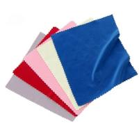 China microfiber eyewear lens cleaning cloths with colorful colors on sale