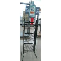 Retail Store wire Metal Display Racks and stands for bottled products like wine, drinks
