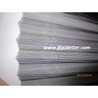 Quality fiberglass polyester PP PE Plisse pleated folding insect screen mesh for sale