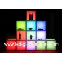 Quality Free combination Containers cleanable LED Cube Furniture with Remote Controller for sale