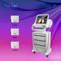 Professional 3 ulthera transducers high intensity focused ultrasound hifu for face lifting