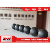 Quality Cast HRC55 Forged Steel Grinding Balls For Copper And Gold Mining for sale