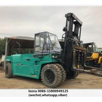 Quality Japanese Mitsubishi Second Hand Diesel Forklifts / 30ton Used Forklift Trucks for sale