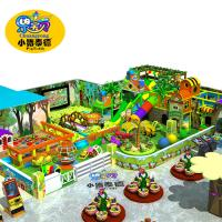 Quality Residential Indoor Playground Equipment , Jungle Theme Indoor Play Area Equipment for sale