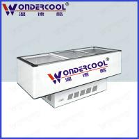 Buy Commercial Static cooling cheap island display freezer ice cream freezer chest freezer at wholesale prices