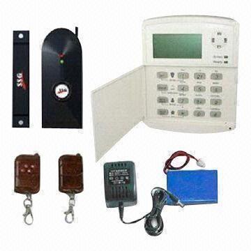 Buy GSM Burglar Alarm/GPRS Intruder Alarm, Wireless Home Security System, 100 Logs Recording at wholesale prices