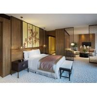 Buy cheap Luxury Chinese Style Hotel Bedroom Furniture Classic Bedroom Set for Resort from Wholesalers