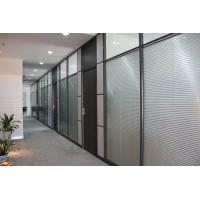 China Decorative Aluminum Glass Office Partitions Office Glass Partition Walls on sale