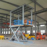 Quality 6T 3M 2 Level Hydraulic Garage Parking Car Lift Mechanical Parking System for sale