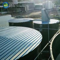 Quality Dark Green Bolted Steel Tanks For Water Storage No Welded Steel Tanks for sale
