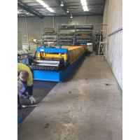 Quality Heavy Duty Storage Rack Metal Roll Forming Equipment 8-15 M / Min For Warehouse for sale