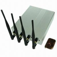 Quality Hot Selling Cellphone/Wi-Fi GPS Jammer with Shielding Radius of 10 to 40m for sale