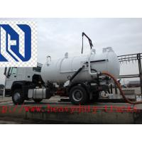 Quality 18CBM 336hp Vacuum Suction Sewer Cleaning Truck 6x4 Desiel Fuel Type for sale