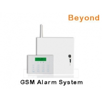 China LCD Metal Case GSM Engineering security Alarm System with 16 Wired zones 31 Wireless zones on sale