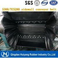 Buy cheap Fire Resistant Corrugated Sidewall Endless Rubber Conveyor Belt' 500mm height cleat DIN Standard from Wholesalers