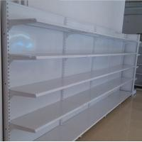 Quality Custom Wall Supermarket Display Shelving Shop Gondola Retail Steel Shelving Rack For Display for sale