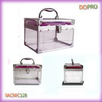 China Small Plastic Cosmetic Cases Clear Jewellery Plastic Boxes (SACMC128) on sale