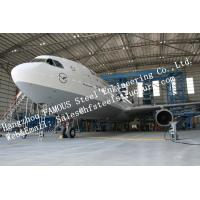 Quality Hot Galvanized Steel Shed Aircraft Hangar Buildings For Airplanes / Air Terminals for sale