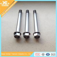 Metric Titanium Hex Flange Bolts From China Manufacturer