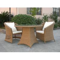 Buy cheap Outdoor Rattan Furniture Sofa Chair Set For Garden / Patio Brown from Wholesalers