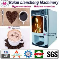 Quality lever coffee machine Bimetallic raw material 3/1 microcomputer Automatic Drip coin operated instant for sale