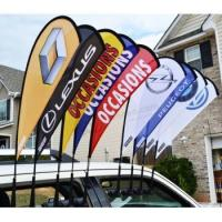 Quality High Quality Fashion Car Window Team Flags for Custom with your logo for sale