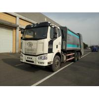 China HJK5251ZYS5JF FAW 6X4 Capacity 20 CBM Garbage Compactor Truck Euro 3 / Euro 5 on sale