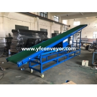 China Factory custom Inclined Belt Conveyor System,Adjustable Height Belt Conveyor on sale