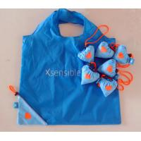 Quality foldable strawberry nylon shopping  bag for sale