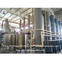Quality High fructose corn syrup production equipment fructose syrup processing plant for sale