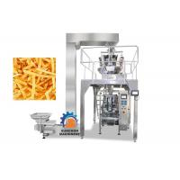 Quality High Efficiency Vertical Automatic Packaging Machine For Popcorn , Snack Foods 1000ML Volume for sale