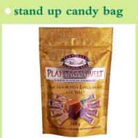 Quality stand up candy pouch with top zipper hot sale made in China for sale