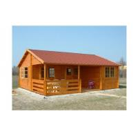 Quality Environmental Friendly Outdoor Wooden House 800*700cm With 2 Bedrooms for sale