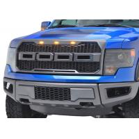 Quality Auto Accessories Upgrade Front Grille with light for 2009 2012 Ford Raptor F150 for sale