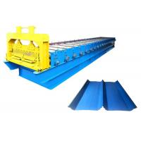 Quality Prepainted Galvanized Standing Seam Metal Machine , Color Steel Roll Forming Machine for sale