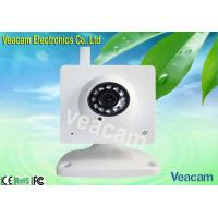 Quality Mini Wireless External IP Camera with Fixed Iris and 850nm Infrared LEDs for sale