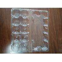 Quality stock egg tray 12 holes shenzhen factoryPVC/PET/blister products for sale