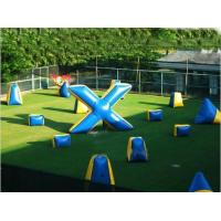 China Commercial Grade PVC Tarpaulin Inflatable Paintball Bunker on sale