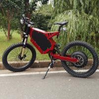 China Red Color Specialized Electric Mountain Bike Voltage > 60V High Strength Steel Material on sale