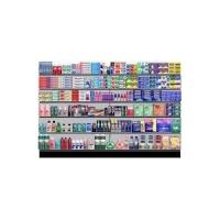 Buy cheap High Steel Heavy Duty White Grocery Convenience Store Shelves Display from wholesalers