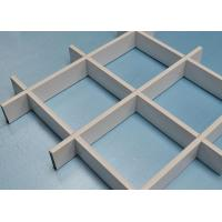 Buy cheap 0.4~0.7mm Open Cell Ceiling System Aluminum grid Panels 150x150mm / 200x200mm from wholesalers