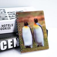 China School Students Stationery 3D Lenticular Notebook Plastic Material A3 A4 Size on sale