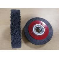 Quality Long Service Life 6 inch Abrasive bristle Industrial Nylon Wheel Brush for deburring for sale