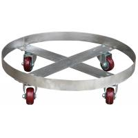 Quality Stainless Steel Oil Drum Dolly Parallel Drum Carrier 400Kg Loading for sale