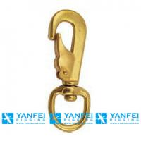 Quality Solid Brass Swivel Spring Snap Hooks for sale