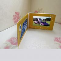 China 5 Inch Battery Lcd Video Mailer Card Printed With Speaker And Bluetooth on sale